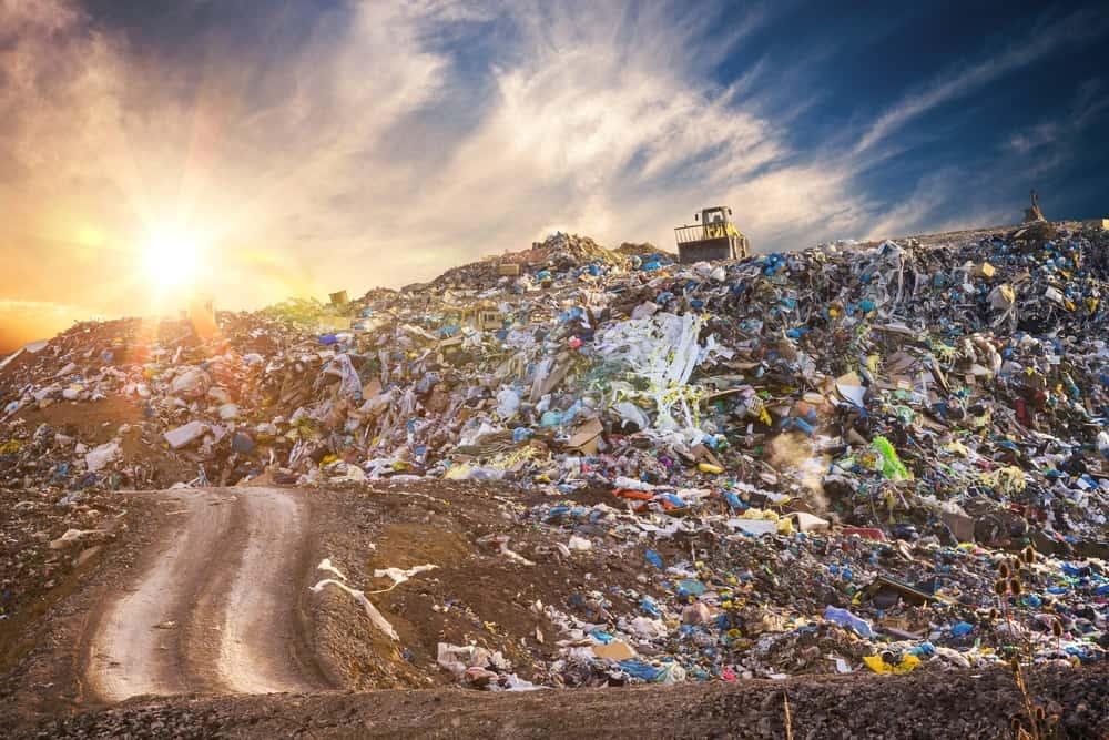 trash americans landfill