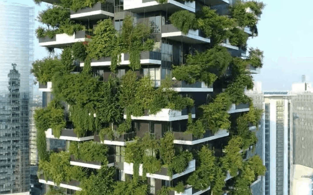 spotlight: lush city living in the vertical forest, italy