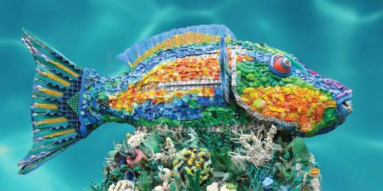 spotlight: washed ashore: turning beach waste into art