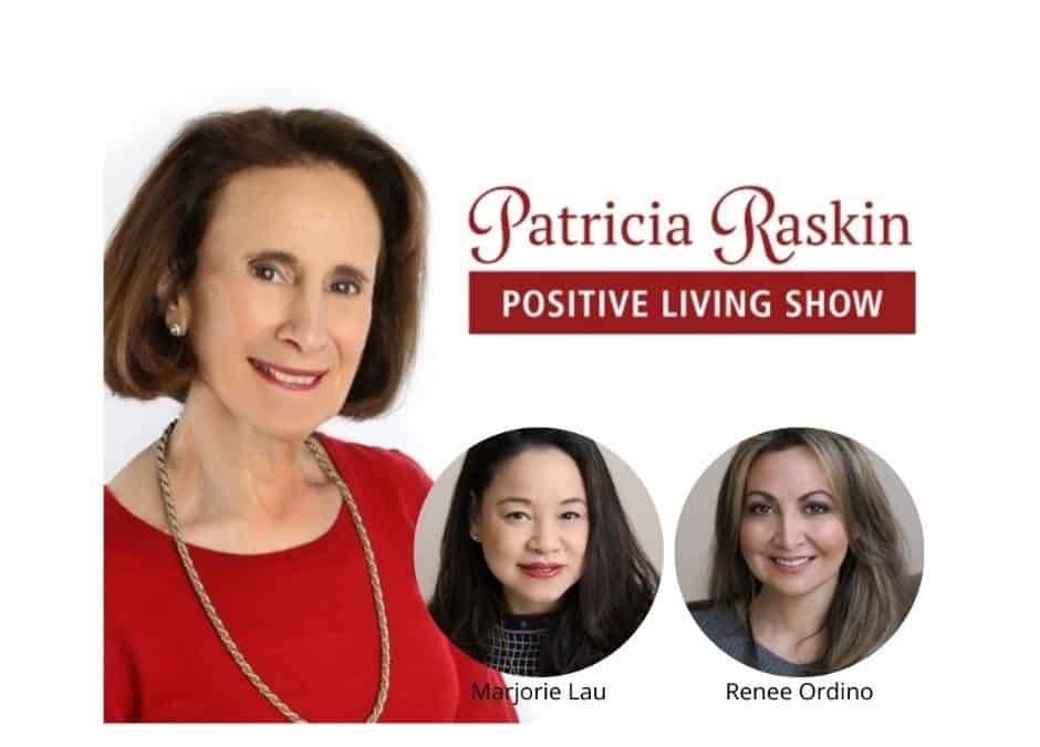 Co-founders Renee & Marjorie appear on Positive Living podcast