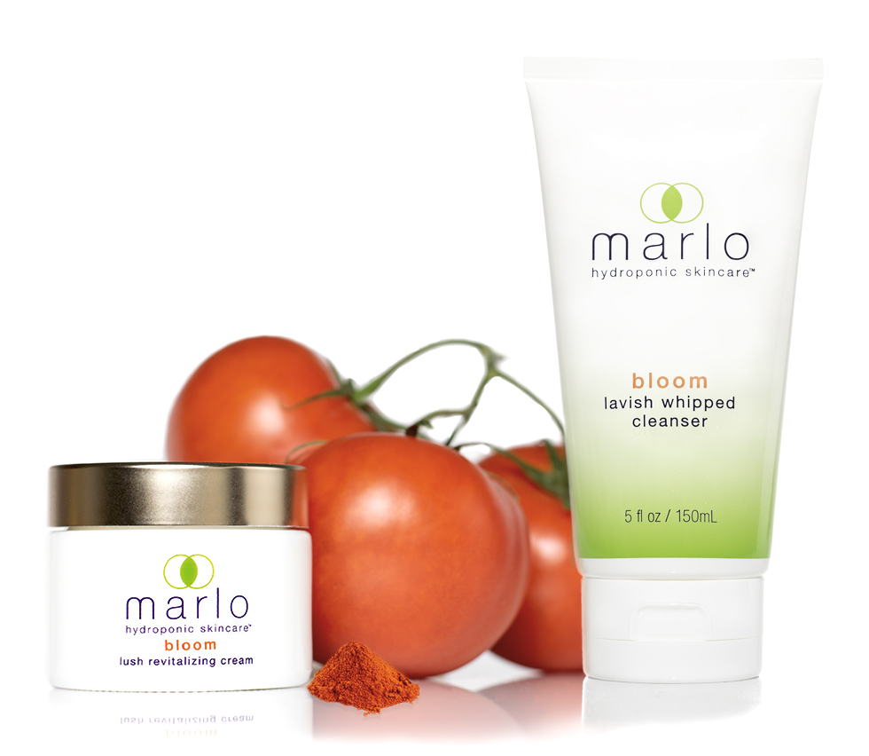 marlo bloom cream and cleanser with lycopene