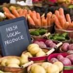 farmers market local farm produce